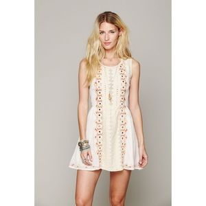 NWOT Stunning Mirrored Embroidered Free People 👗